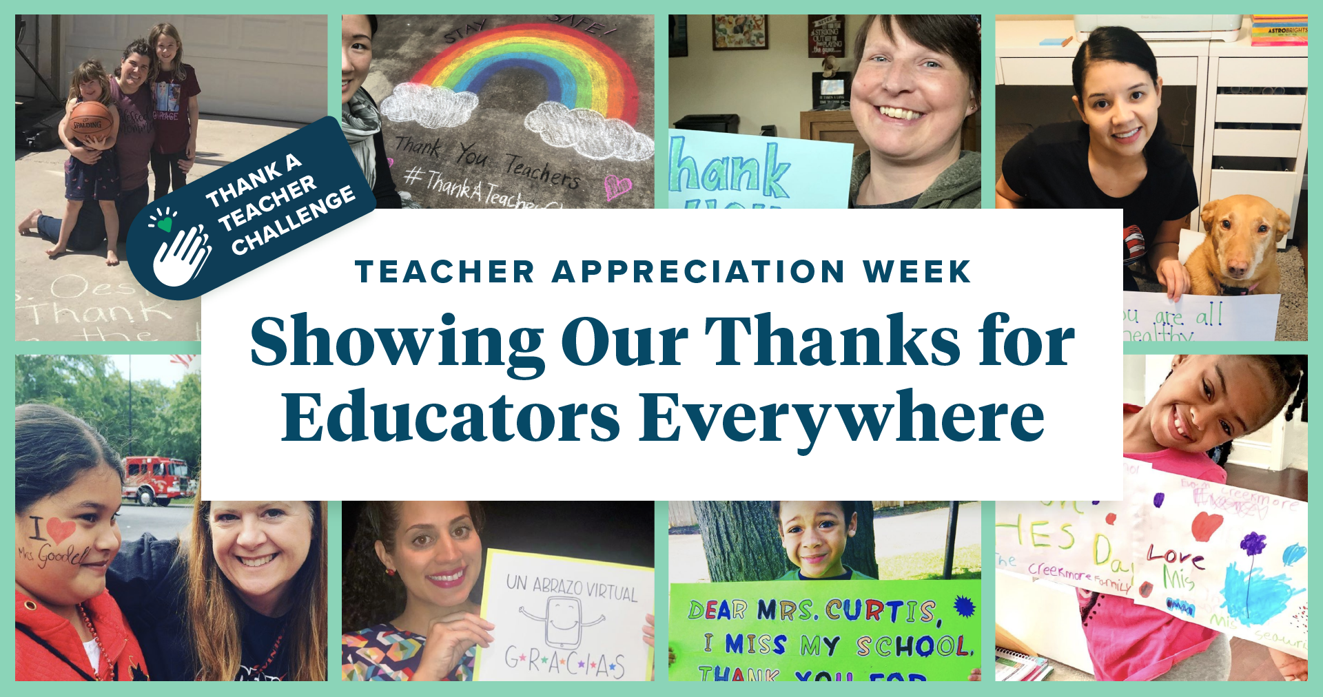 Teacher Appreciation Week: Showing our thanks to educators everywhere