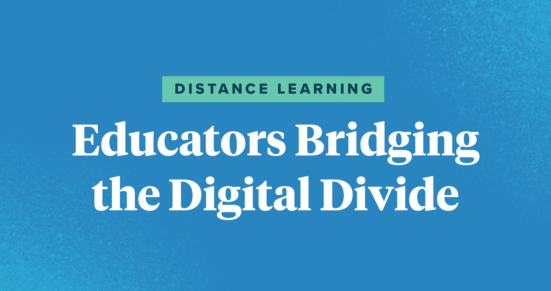 Distance Learning Educators Bridging the Digital Divide TpT Blog