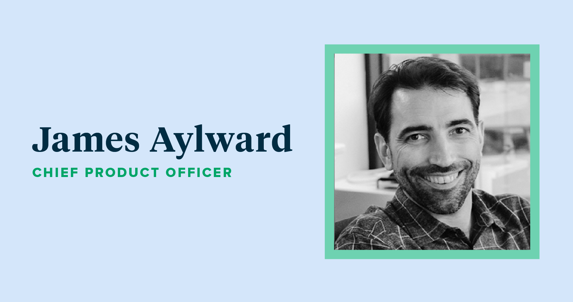 A photo of James Aylward, TpT's new Chief Product Officer